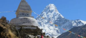 Amadablam Backcountry Skiing Adventure