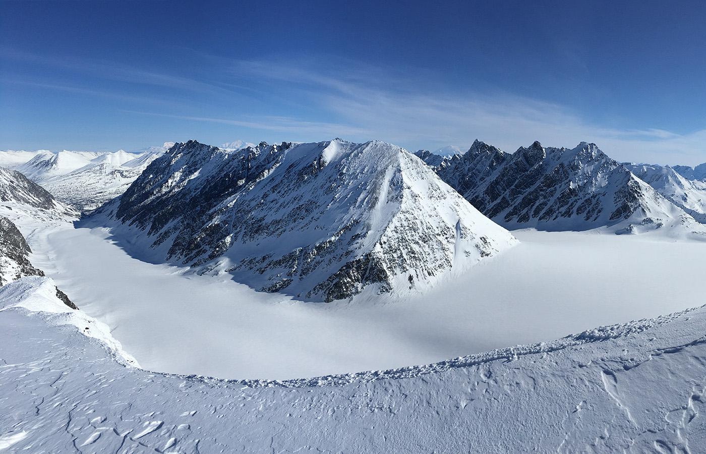 Valdez Skiing